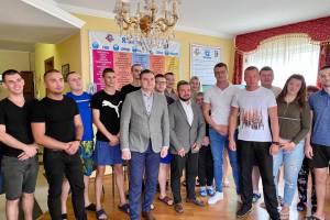 """На днях наш центр """"РІАДА"""" провідав кандитат в мери Ужгорода Олександр Білак"""